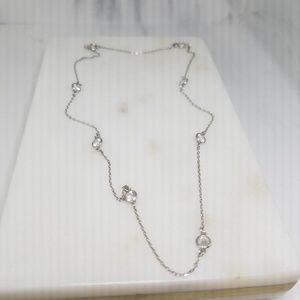 Jewelry - Sterling/ Necklace Cubic Zircon Necklace